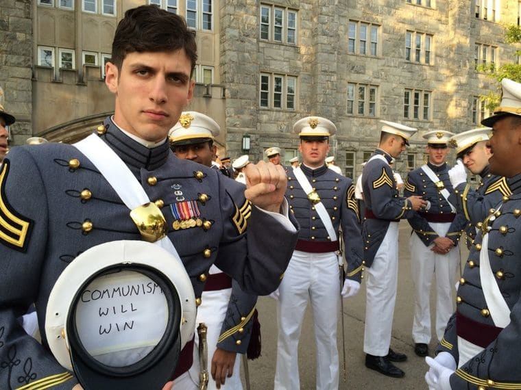 Army 2nd Lt Spenser Rapon