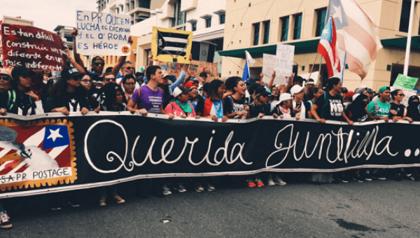 demo in Puerto Rico