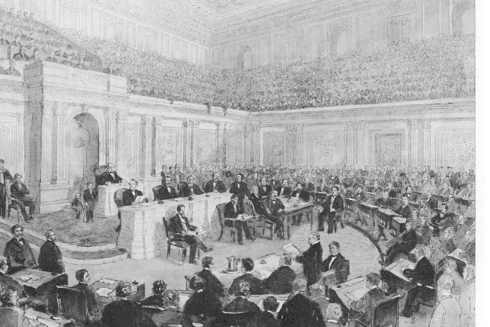 Impeachment trial of U.S. President Andrew Johnson