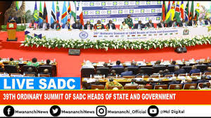 SADC 39th Summit in Tanzania held during August 17-18, 2019