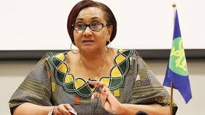 SADC Executive Secretary Stergomena Lawrence Tax at 39th Summit held in Tanzania on Aug. 17-18, 2019
