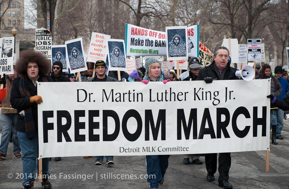 Detroit MLK Day March 2014