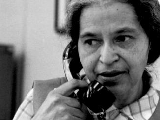 Rosa Parks in May 1971