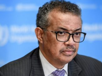 World Health Organization Director General Dr. Tedros Adhanom Ghebreyesus