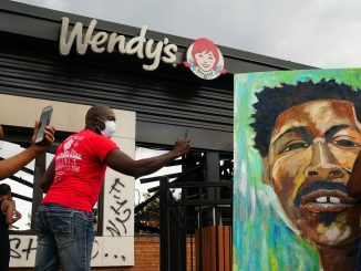 Atlanta Wendy's turned into memorial for Rayshard Brooks gunned down by white cop
