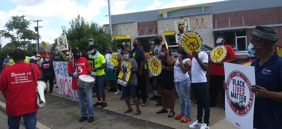 July 20 Strike for Black Lives mobilized low-wage workers across the U.S.