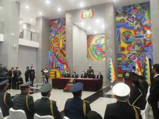 Bolivian President Luis Arce on Monday appointed the new high command of the Armed Forces, in an official ceremony held at the Great House of the People