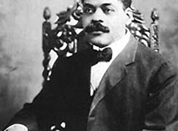 Arturo Alfonso Schomburg as a young man