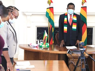 Coronavirus Zimbabwe roll out set for Feb. 14, 2021 Moment of silence with President