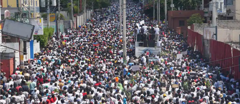 Daily protests are paralyzing Haiti