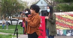 Detroit rally at Clark Park with YLM on April 17, 2021