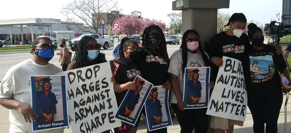 Hazel Park press conference youth come out in support of Armani