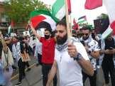 Dearborn demonstration demanding Palestine liberation on al-Nakba Day 2021