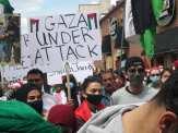 Dearborn demonstration on al-Nakba Day 2021