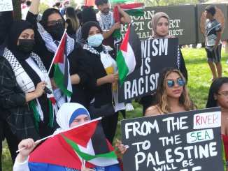 Dearborn demonstration to stop US aid to Israel
