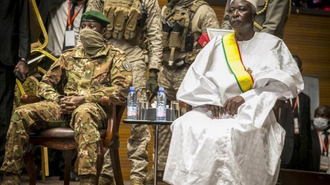 Mali coupmakers overthrew ECOWAS backed interim leaders