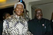 Zambian President Kenneth Kaunda and President Nelson Mandela
