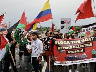 Block the Boat NY-NJ action