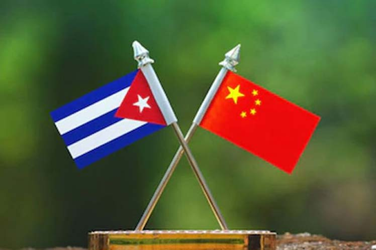 Cuba and China, both targets of U.S. imperialism, strengthen ties
