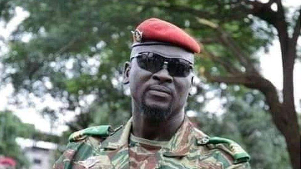 Guinea coup leader Col. Mamady Doumboya