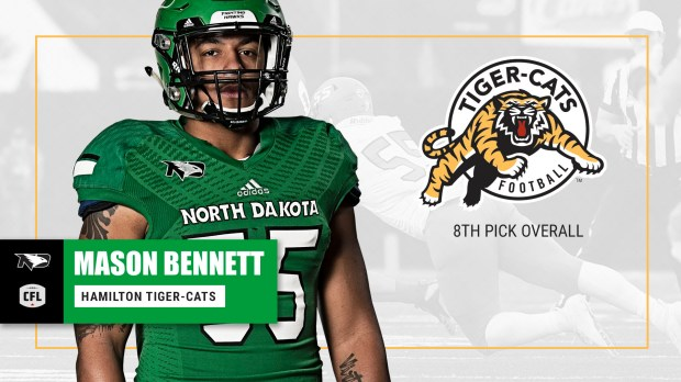 Mason Bennett selected 8th overall in CFL Draft - University of ...