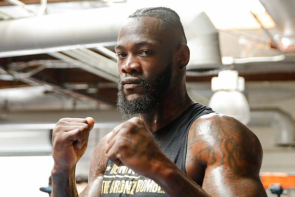 018 Deontay Wilder Media Workout