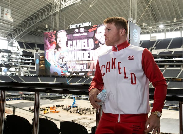 Canelo Vs Saunders Media Tour
