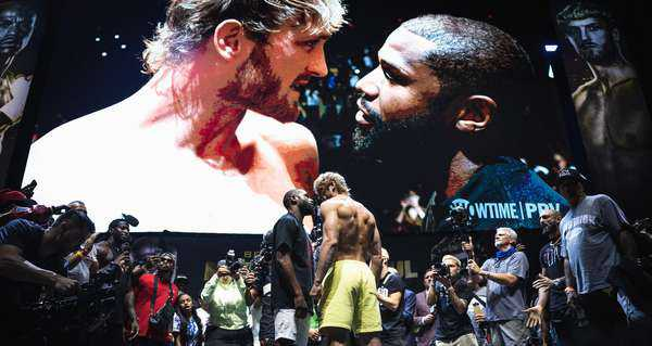 20210604 Showtime Mayweather V Paul Official Weigh In Westcott 029