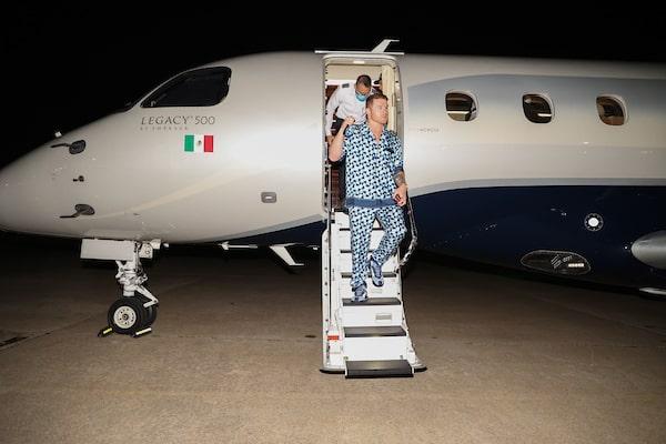 "Boxing: Saul ""canelo"" Alvarez Arrives For Fight Week"