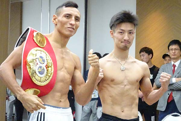 Alvarado Konishi Weigh In