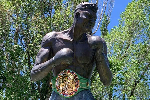 Belt On Dempsey Statue