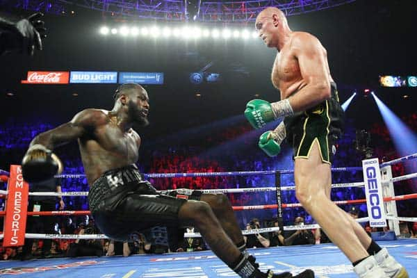 Deontay Wilder Vs Tyson Fury Timber