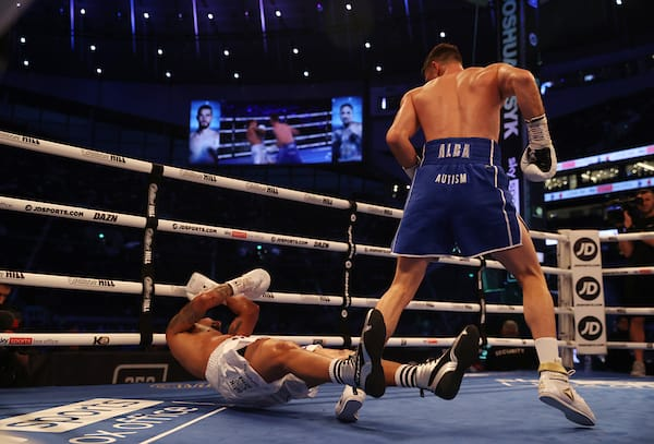 Joshua Vs Usyk Fight Night