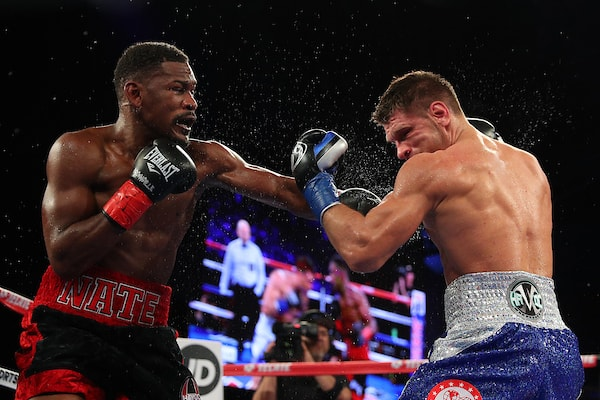 Jacobs, Derevyanchenko face off for vacant IBF middleweight title