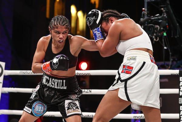 Boxing: Cecilia Braekhus Vs Jessica Mccaskill