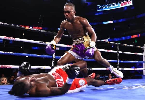 Evan Holyfield Vs Charles Stanford Knockdown2