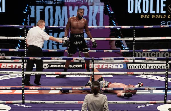 Okolie Vs Glowacki Fight Night