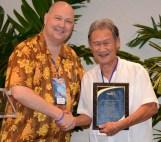 Hubert Minn Mahalo Award
