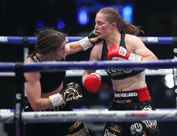 Katie Taylor Vs Delfine Persoon, Undisputed Lightweight Title Contest.