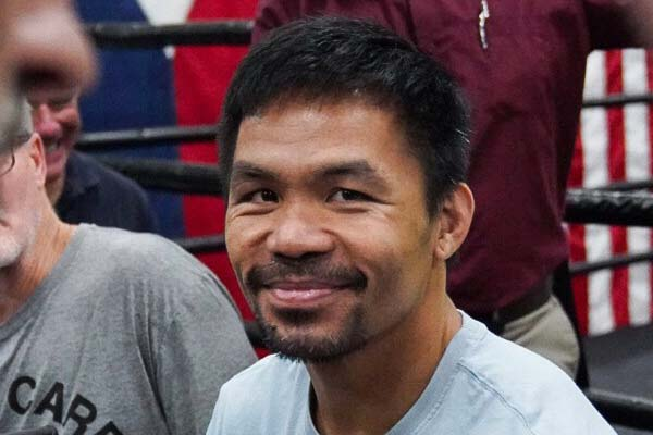 Manny Pacquiao Media Workout