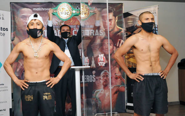 Martinez Y Calleros, Weight In