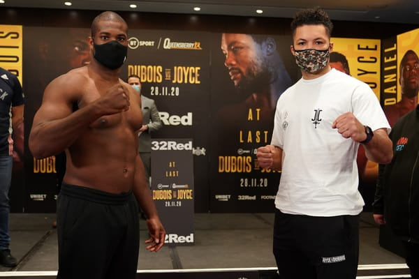 Daniel Dubois eye injury latest after loss to Joe Joyce