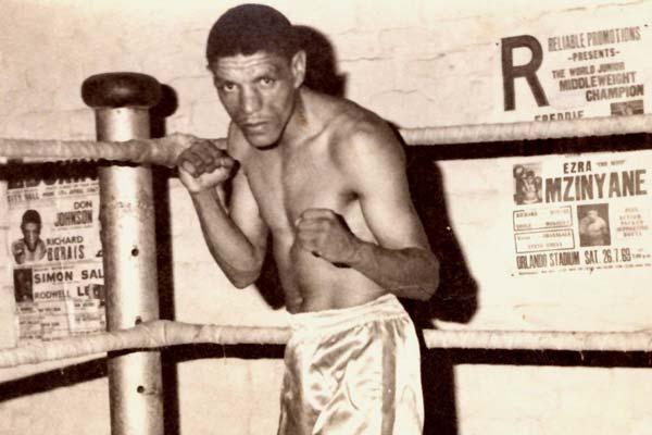 Richard Kid Borias Sa Lightweight Champion 1967