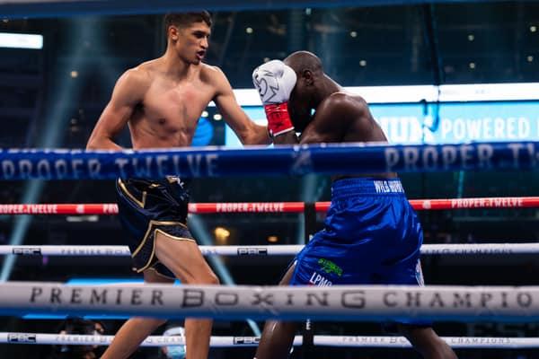 Sebastian Fundora Vs Habib Ahmed December 5 2020 12 05 2020 Fight Ryan Hafey Premier Boxing Champions