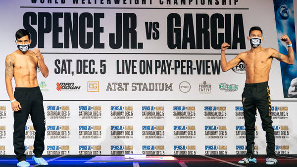 Unbeaten Spence returns from crash to face Garcia for title