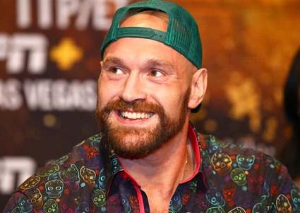 Tyson Fury Smiles
