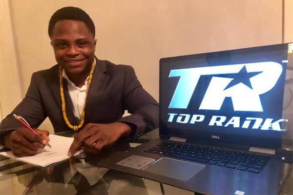 Dogboe signs four-yeal deal with Top Rank Boxing Promotions