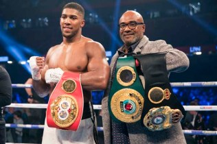 Anthony Joshua and Father