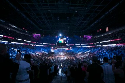 Mayweather vs McGregor T-Mobile Arena