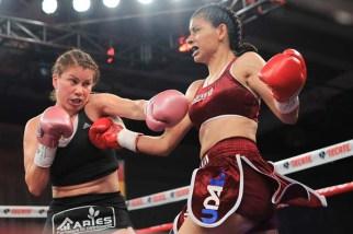 Paulette Vlza Vs Gabriela Sanchez Fight